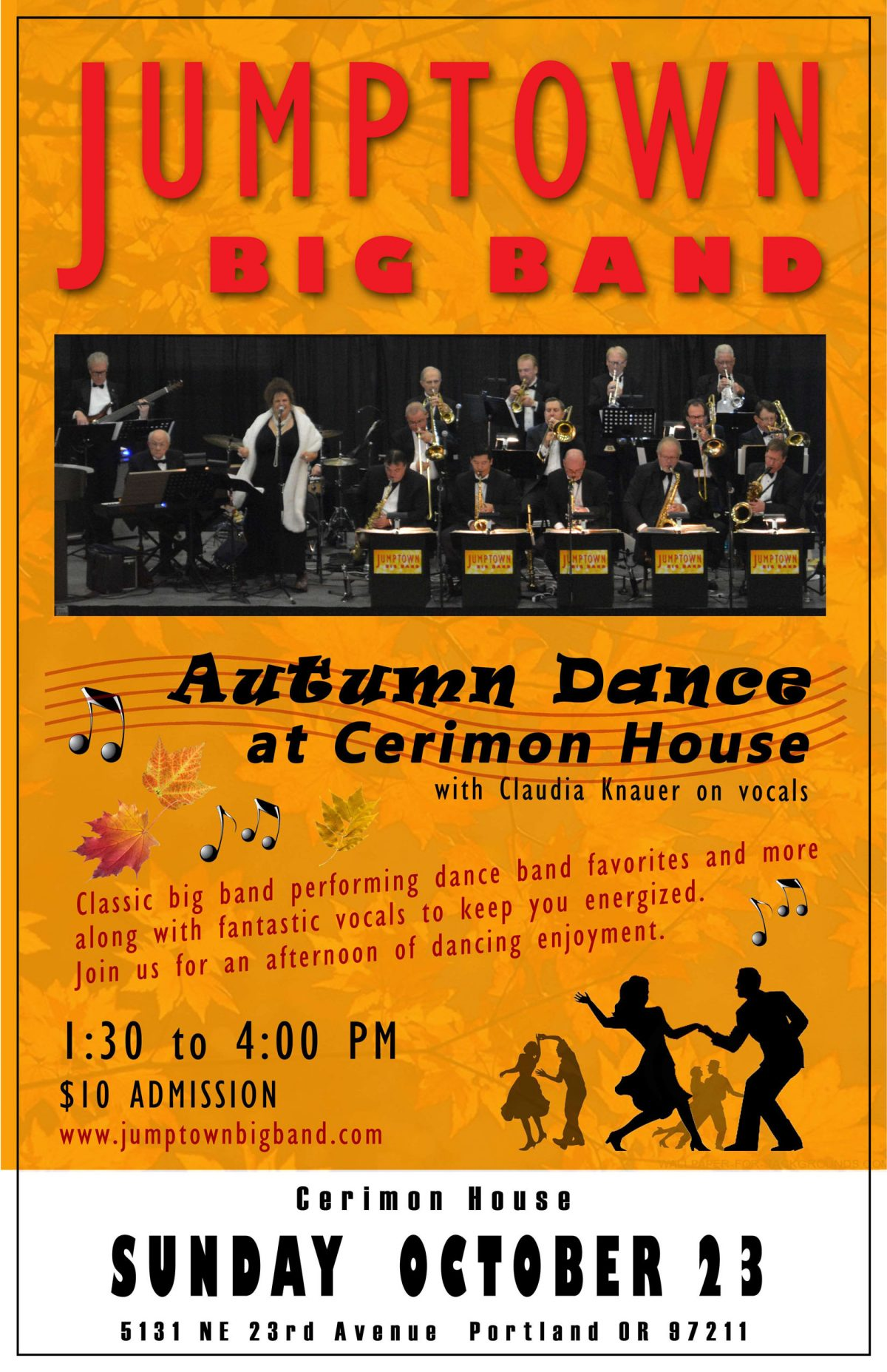 October 23, 2016 – Autumn Dance at Cerimon House