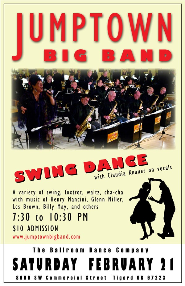 February 21, 2015 – Jumptown Swing Dance in Tigard